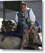 Street People - A Touch Of Humanity 10 Metal Print