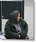 Street People - A Touch Of Humanity 9 Metal Print