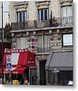 Street Scenes - Paris France - 011352 Metal Print by DC Photographer