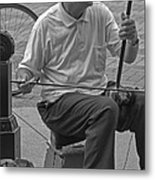 Street Strings 2 Metal Print