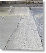 Street Under The Bridge Metal Print