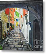 Street View 2 From Pula Metal Print
