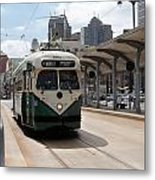 Streetcar Route Metal Print