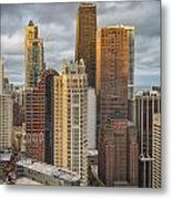 Streeterville From Above Metal Print