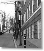 Streets Of Boston Metal Print