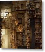 Streets Of Gold Metal Print