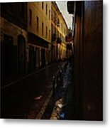 Streets Of Milano - Italy Metal Print