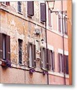 Streets Of Rome Metal Print