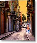 Streets Of San Juan Metal Print