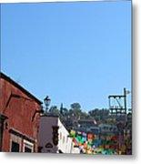 Streets Of San Miguel De Allende 2 Metal Print