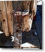Streets Of Tombstone 14 Metal Print