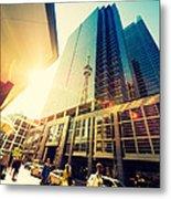 Streets Of Toronto Metal Print