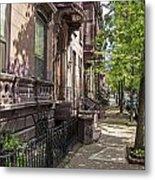 Streets Of Troy New York Metal Print