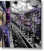Streetwise In Spain Metal Print