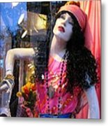 Strike A Pose Metal Print