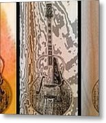 Striking A Chord Metal Print