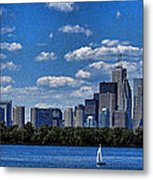 Striking Toronto Skyline Metal Print