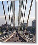 String Bridge In Seville Andalucia Metal Print