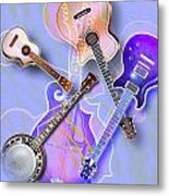 Stringed Instruments Metal Print