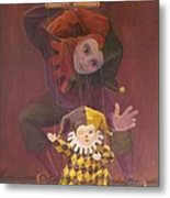 Strings Attached Metal Print by Leonard Filgate