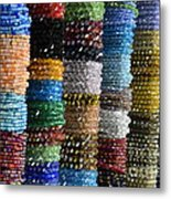 Strings Of Color Metal Print