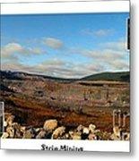 Strip Mining - Environment - Panorama - Labrador Metal Print