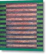 Striped Triptych No.5.03 Metal Print