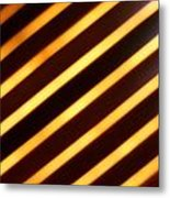 Stripes With Style Metal Print