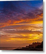 Strokes Of Sunset I Metal Print