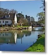 Stroudwater Canal Stonehouse Metal Print