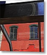 Structural Abstract 3 Metal Print