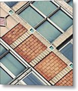 Structural Abstract 5 Metal Print