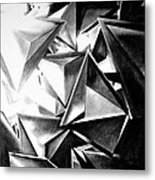 Structure Invasion Metal Print