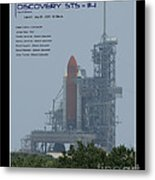 Sts-114 Discovery Metal Print