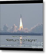 Sts-114 Discovery Launch Metal Print