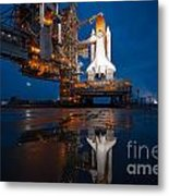 Sts 135 Atlantis Prelaunch Metal Print