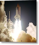 Sts-72, Space Shuttle Endeavor Launch Metal Print