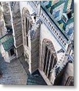 St.stephan Cathedral - Vienna -  Austria Metal Print