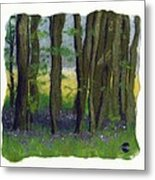 Stubb Wood Metal Print