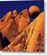 Stuck In A Wedge Metal Print