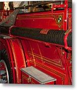 Studebaker Fire Truck Metal Print