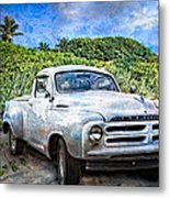 Studebaker Goes To The Beach Metal Print