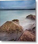 Studies In Humboldt Bay 1 Metal Print
