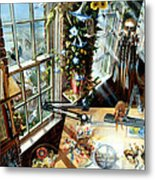 Studio In Duluth Metal Print by Lynette Yencho