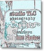 Studio Tlc Transparency Metal Print