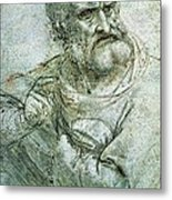 Study For An Apostle From The Last Supper Metal Print