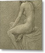 Study For Lilith Metal Print by Robert Fowler