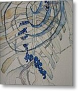Study For Structure Metal Print
