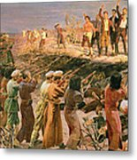 Study For The Execution Of The Twenty Six Baku Commissars Metal Print