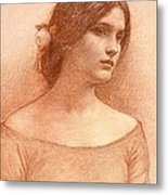 Study For The Lady Clare Metal Print